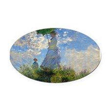 Woman with a Parasol Claude Monet Impressionist Ov