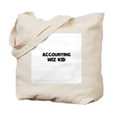 accounting Wiz Kid Tote Bag