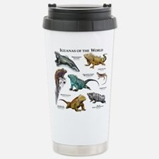 Iguanas of the World Stainless Steel Travel Mug