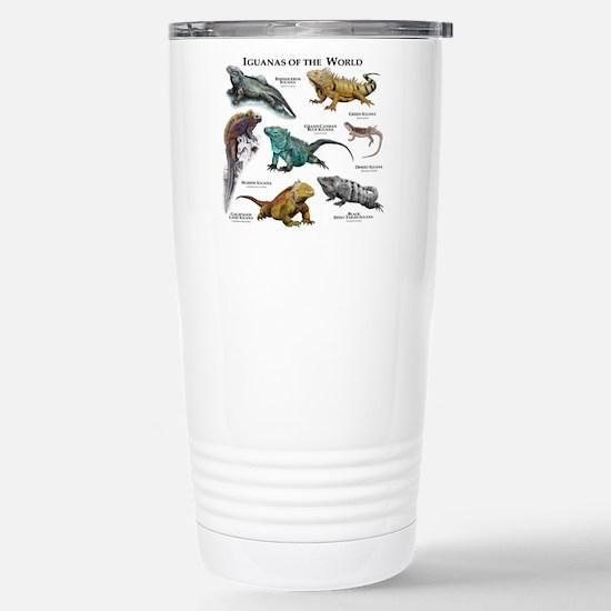 Iguanas of the World Stainless Steel Travel Mug