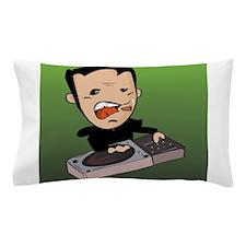 Dj Green Pillow Case