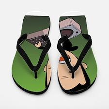 Dj Green Flip Flops