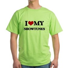 I Love My SHOWTUNES T-Shirt