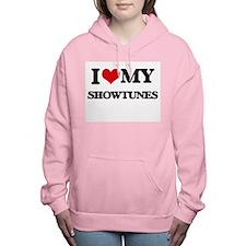 I Love My SHOWTUNES Women's Hooded Sweatshirt