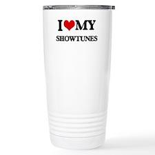 I Love My SHOWTUNES Travel Mug