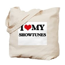 I Love My SHOWTUNES Tote Bag