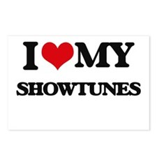 I Love My SHOWTUNES Postcards (Package of 8)