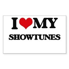 I Love My SHOWTUNES Decal