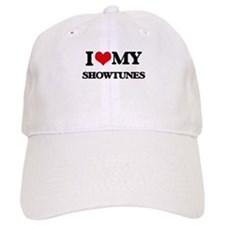 I Love My SHOWTUNES Baseball Cap