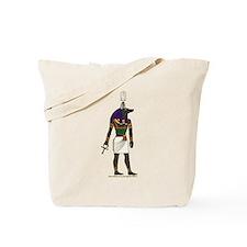 Anubis Hieroglyph Tote Bag