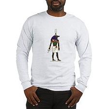 Anubis Hieroglyph Long Sleeve T-Shirt