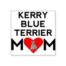 Kerry Blue Terrier Mom Sticker