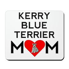 Kerry Blue Terrier Mom Mousepad