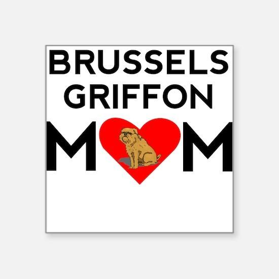 Brussels Griffon Mom Sticker