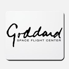 Goddard Space Center Car Flag Mousepad