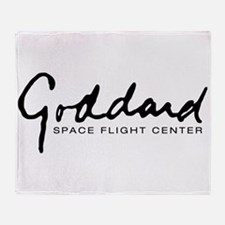 Goddard Space Center Throw Blanket