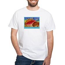At the Beach-Gulls, Shells, C Shirt