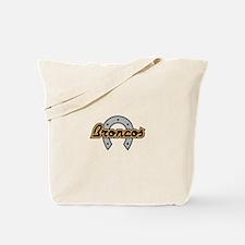 BRONCOS FILLED HORSESHOE Tote Bag