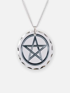 Silver Pentagram Necklace