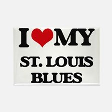 I Love My ST. LOUIS BLUES Magnets
