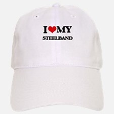 I Love My STEELBAND Baseball Baseball Cap