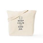 Keep Calm God Jul Tote Bag