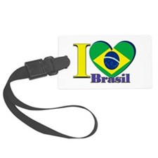 I love Brasil Luggage Tag