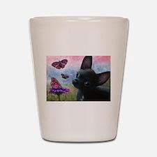 dog 91 Shot Glass