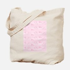 A Valentine For You with Hearts and Stars Tote Bag