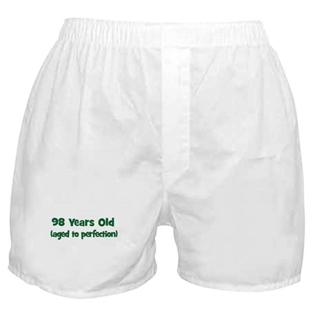 98 Years Old (perfection) Boxer Shorts