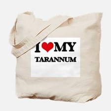 I Love My TARANNUM Tote Bag
