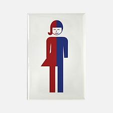 Ladyboy / Tomboy Toilet Thai Sign Magnets