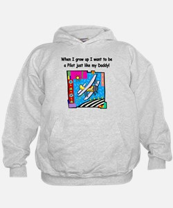 Airplane Pilot Daddy Hoodie