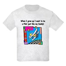 Airplane Pilot Daddy T-Shirt