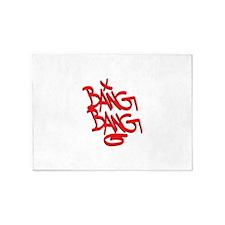 Bang Bang 5'x7'Area Rug