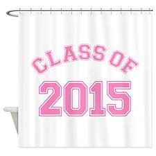 Class Of 2015 Shower Curtain