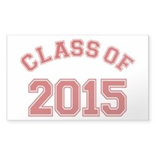Class Of 2015 Decal