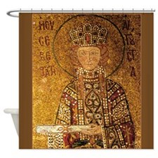 Empress Irene Shower Curtain