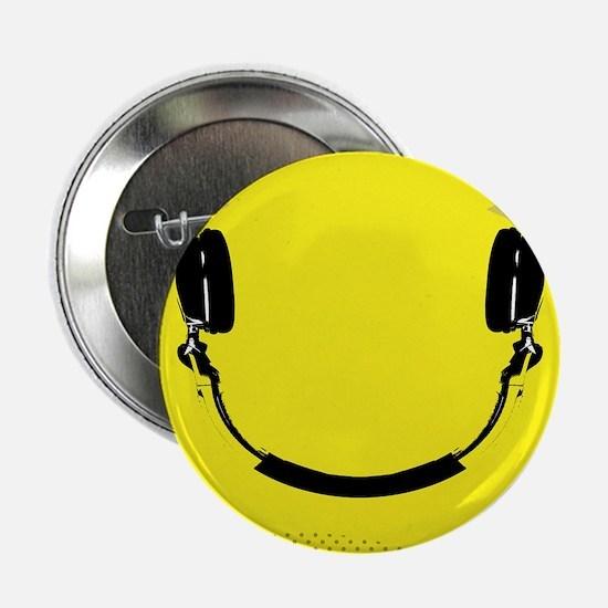 """Smiley 2.25"""" Button"""