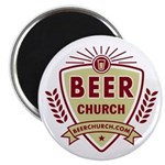 A 10 Pack of Beer Church Fridge Magnets