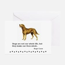 Chessie Life Quote Greeting Cards (Pk of 10)
