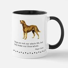 Chesapeake Bay Retriever Life Quote Mug