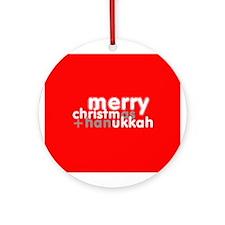 Christ(mas+han)ukkah ~  Keepsake (Round)