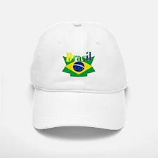 Brasil ribbon Baseball Baseball Cap