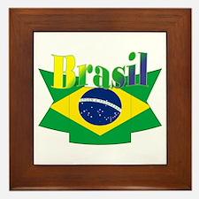 Brasil ribbon Framed Tile