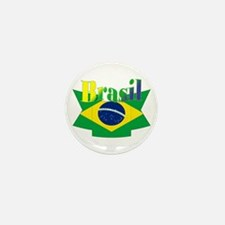 Brasil ribbon Mini Button (10 pack)