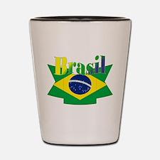 Brasil ribbon Shot Glass