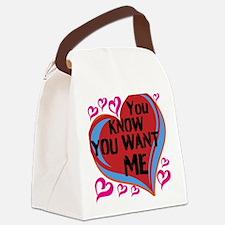 design Canvas Lunch Bag