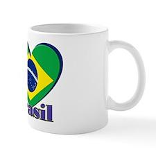 I Love Brasil Mugs