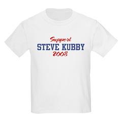 Support STEVE KUBBY 2008 T-Shirt